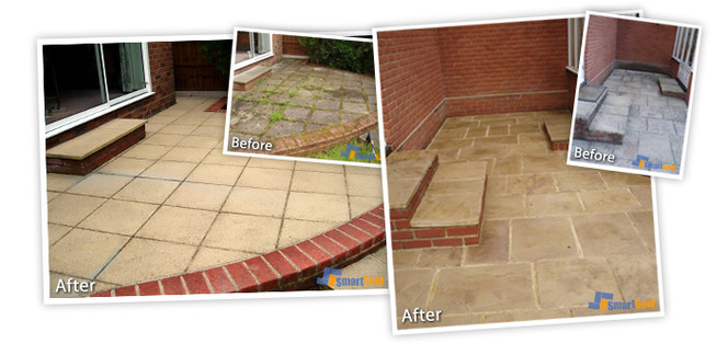 Driveway Cleaning Bournemouth and Poole, Dorset & Patio Cleaning Bournemouth and Poole, Dorset