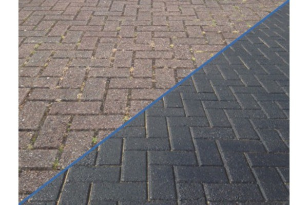 MAKE OLD BLOCK PAVED DRIVEWAYS LOOK LIKE NEW