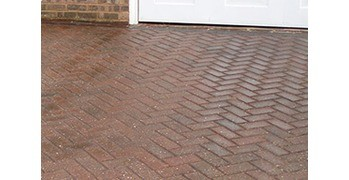 Why pressure washing can damage your drive